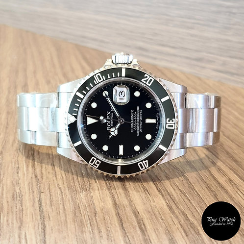 Rolex Oyster Perpetual Submariner Date REF: 16610 (D Series)(2)