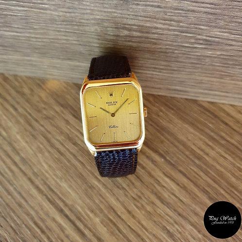 Rolex 18K Yellow Gold Cellini REF: 4135 (2)