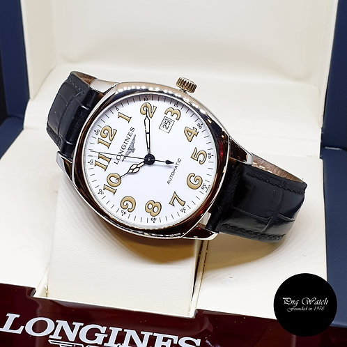 Longines White Spirit Automatic Watch REF:  L2.700