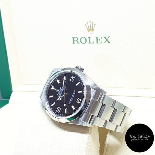 Rolex Oyster Perpetual 36mm Black Explorer One REF: 114270 (D Series)