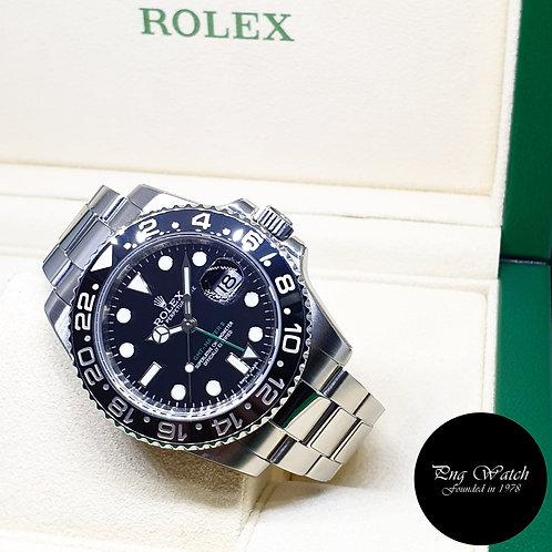 Rolex Oyster Perpetual Ceramic Black GMT Master 2 REF: 116710LN