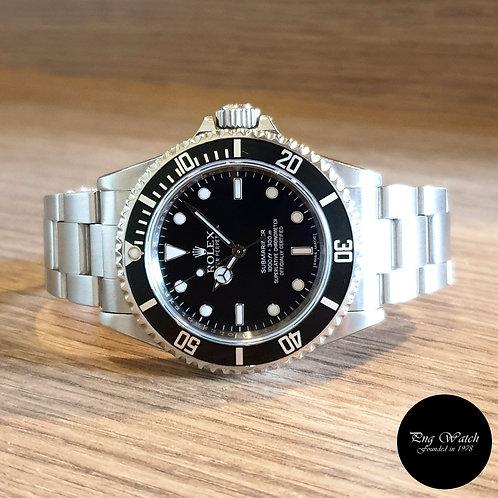 Rolex Black 4 Liner Submariner No Date REF: 14060M (2)