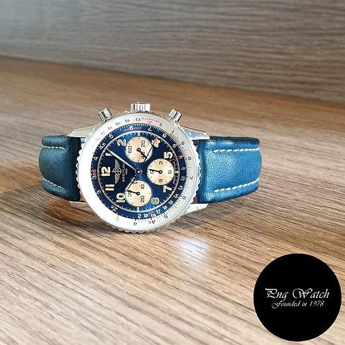 Vintage Blue Breitling Navitimer REF: A30022 (2)