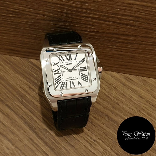 Cartier Santos XL 100 Dress Watch REF: W20073X8 (2)