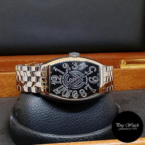 Franck Muller Cìntree Curvex Black Wristwatch (2009)