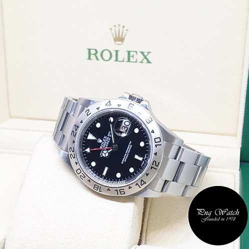 Rolex Oyster Perpetual 40mm Black Explorer 2 REF: 16570 (2006)