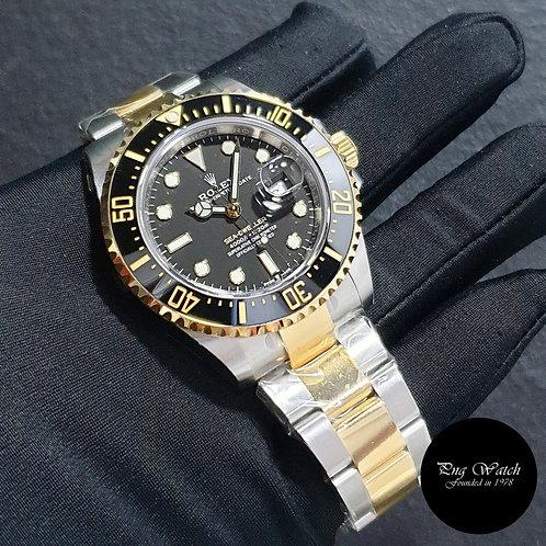 Rolex Oyster Perpetual 43mm 18K Half Gold Sea Dweller REF: 126603 (20)(2)