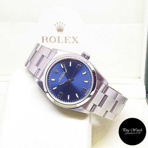 Rolex 31mm Blue Automatic Oyster Perpetual REF: 77080