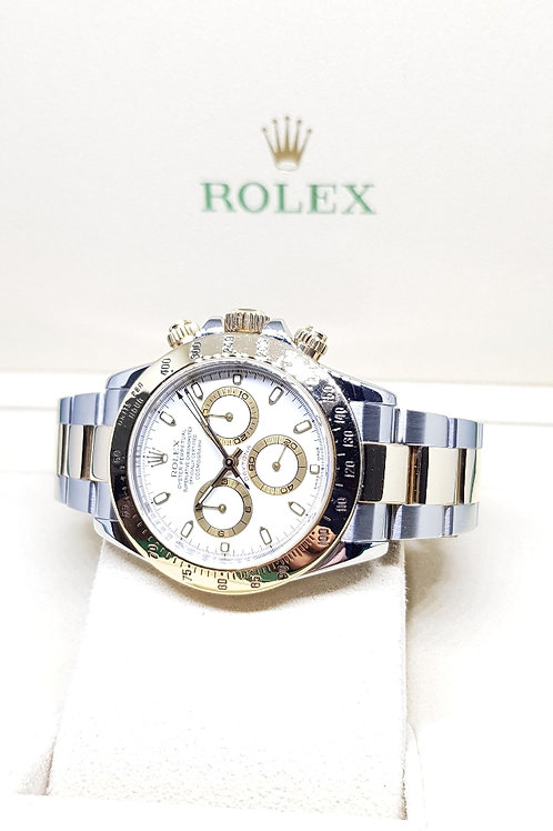 Rolex Oyster Perpetual 18K Half Gold Cosmograph Daytona REF: 116523