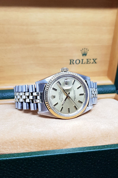 Rolex Oyster Perpetual Half Gold Datejust REF: 1601
