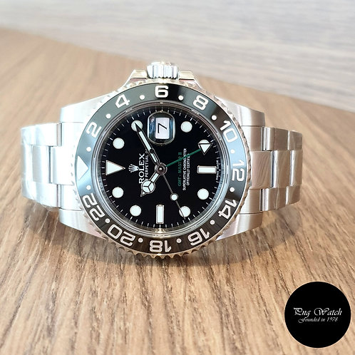 Rolex Oyster Perpetual Steel GMT Master 2 REF: 116710LN (2)