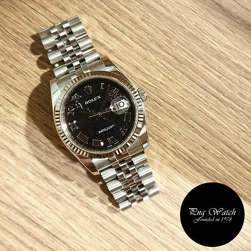 Rolex Oyster Perpetual Black Computer Datejust REF: 116234 (2)