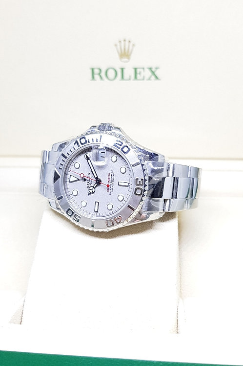 Rolex Oyster Perpetual Platinum Bezel Yachtmaster REF: 168622