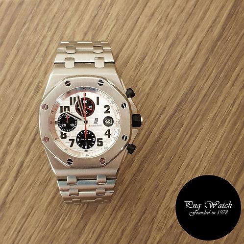 Audemars Piguet Royal Oak Offshore Panda Chronograph REF: 26170ST (2)