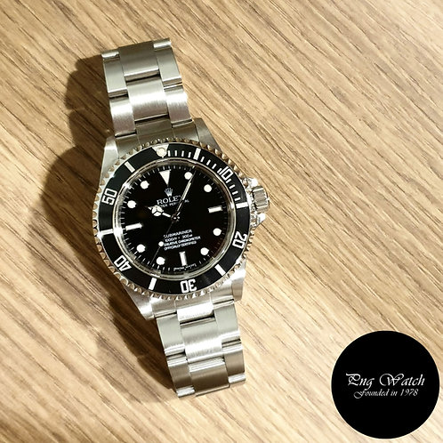 Rolex Oyster Perpetual 4Liner Steel No Date Submariner REF: 14060M (2)