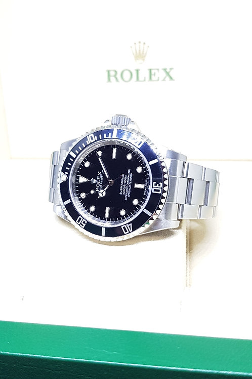 Rolex 4 Liner No Date Submariner REF: 14060M