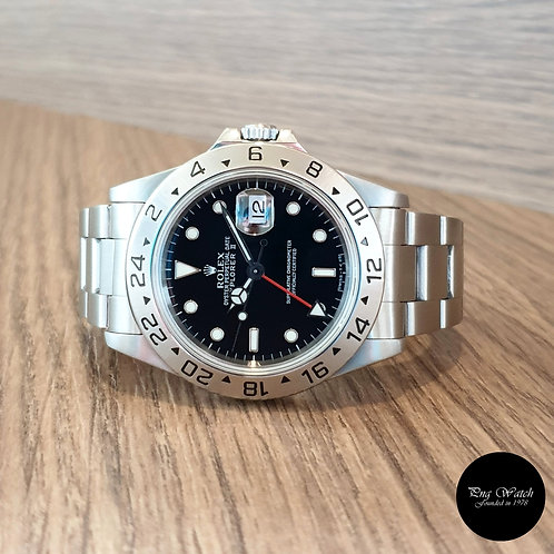 Rolex Oyster Perpetual Black Explorer 2 REF: 16570 (2)
