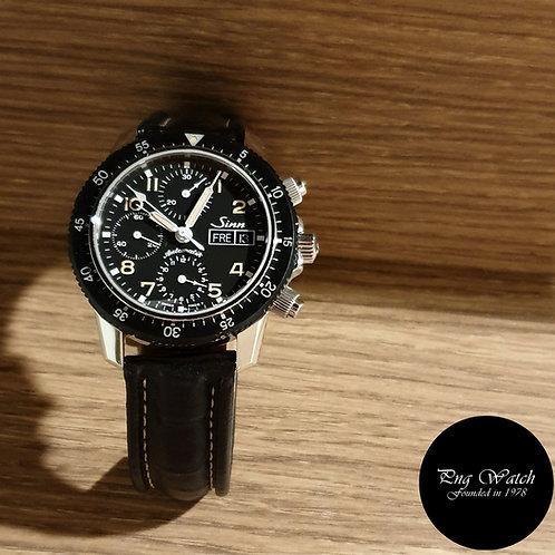 Sinn Tritium 103 Day-Date Chronograph Watch (2)