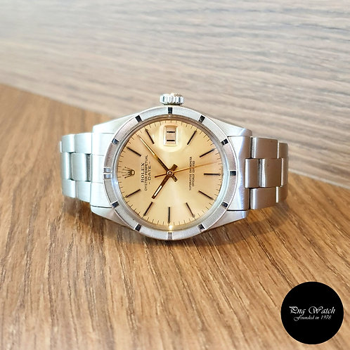 Rolex Oyster Perpetual Champagne Index Date REF: 1501 (2)