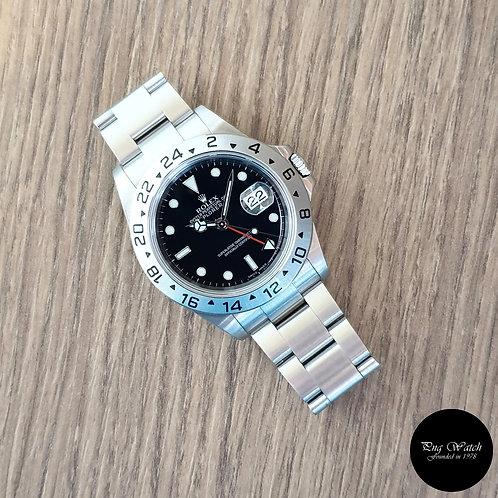 "Rolex Oyster Perpetual ""3186"" Movement Black Explorer 2 REF: 16570 (Z Series)(2)"
