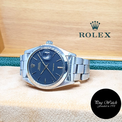 Rolex Matte Black Oysterdate Precision REF: 6694