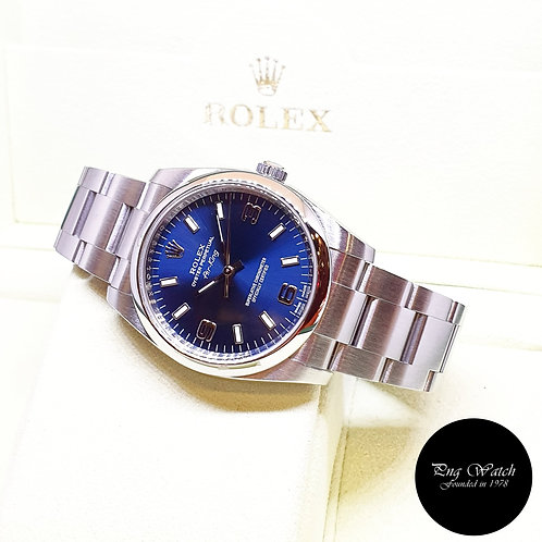 Rolex Oyster Perpetual 34mm Blue Air-King REF: 114200 (AN Series)