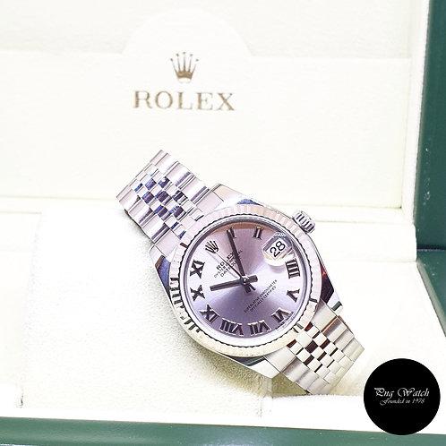 Rolex Oyster Perpetual 31mm Rhodium Datejust REF: 178274 (2019)