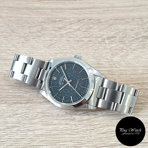 Rolex Oyster Perpetual No Date Black Indexes Tritium AirKing REF: 14000 (S)(2)