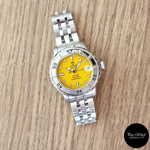 "Tudor Prince Date Yellow ""TIGER"" Hydronaut REF: 85190 (2)"