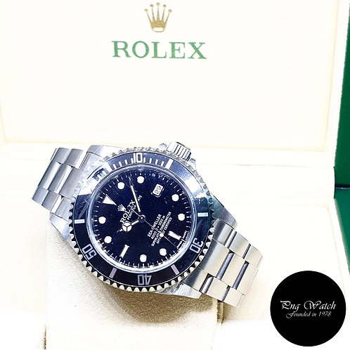 Rolex Oyster Perpetual Black Sea Dweller REF: 16600 (M Series)