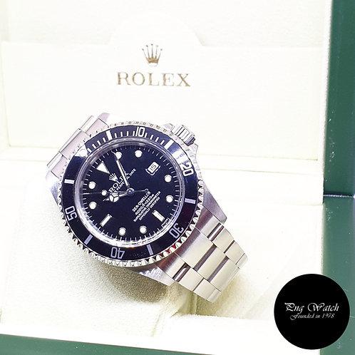 "Rolex Oyster Perpetual ""SWISS"" Black Sea Dweller REF: 16600 (A)"