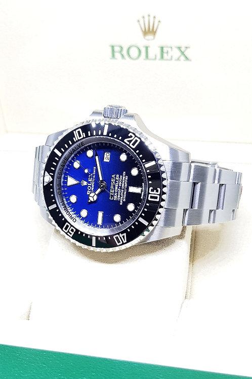 "Rolex Oyster Perpetual Sea Dweller ""DEEPSEA"" Blue REF: 116660"