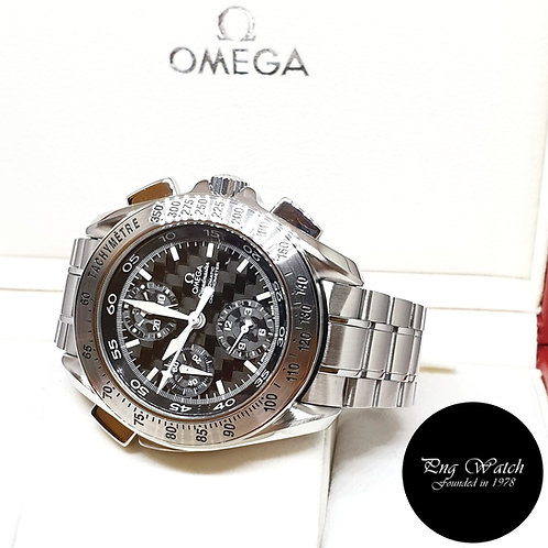 Omega Speedmaster Rattrapante Split Seconds Chronograph Watch