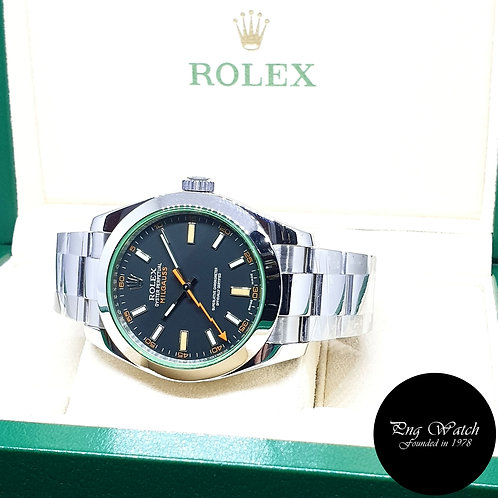 Rolex Black Milgauss REF: 116400GV (V)