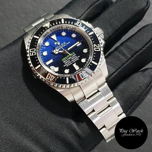 "Rolex Oyster Perpetual Sea Dweller ""DEEPSEA"" Blue REF: 116660 (16)(2)"