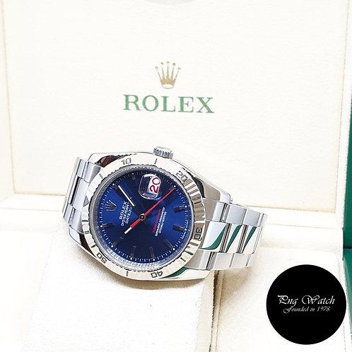 "KRolex Oyster Perpetual Blue ""Turn-O-Graph"" Datejust REF: 116264 (F Series)"