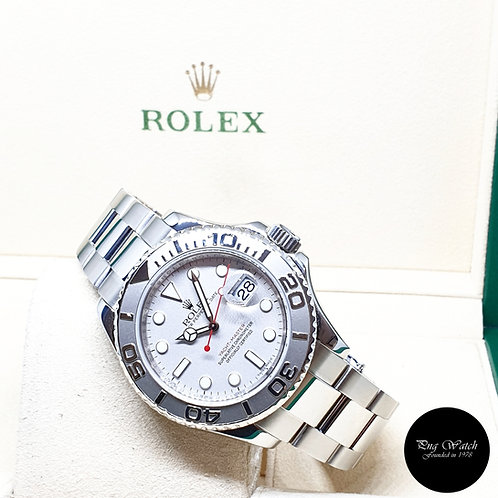 Rolex Oyster Perpetual 40mm Platinum Yachtmaster REF: 16622 (2008)