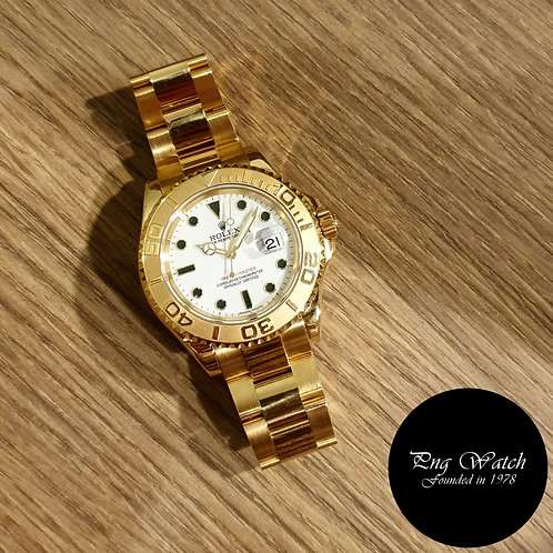 Rolex 18K Yellow Gold Yachtmaster REF: 16628 (2)