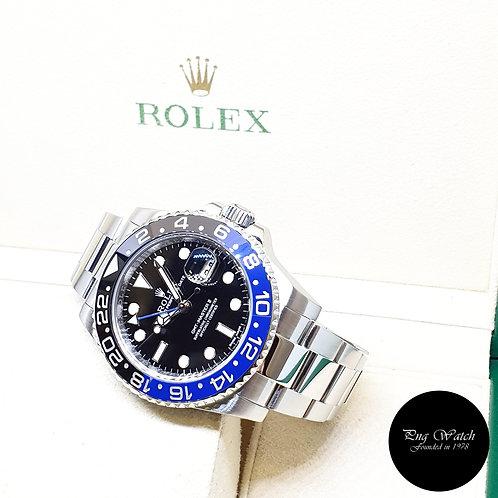 "Rolex Oyster Perpetual ""BATMAN"" GMT Master 2 REF: 116710BLNR (2014)"