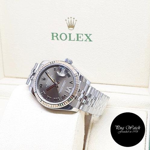 Rolex 31mm Bronze Diamonds VI Datejust REF: 178274 (2014)