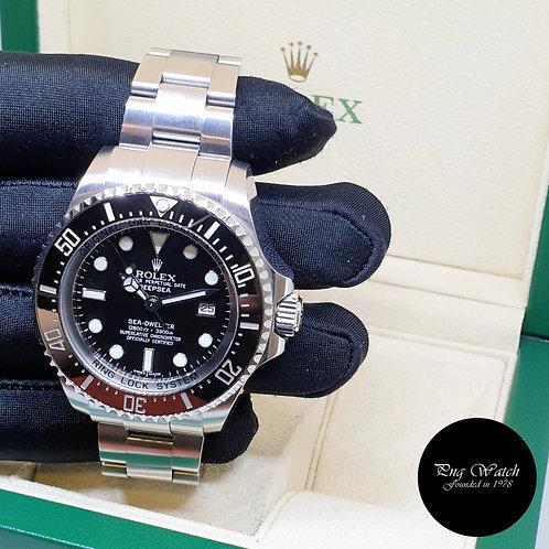 "Rolex Oyster Perpetual Black Sea Dweller ""DEEPSEA"" REF: 116660 (2)"