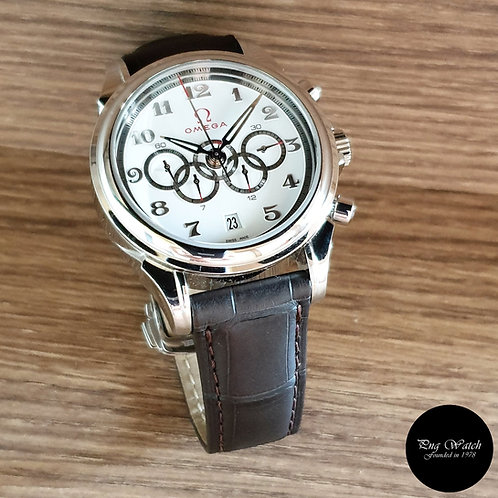 Omega Deville Co Axial Olympic Games Collection Chronograph Watch (2)