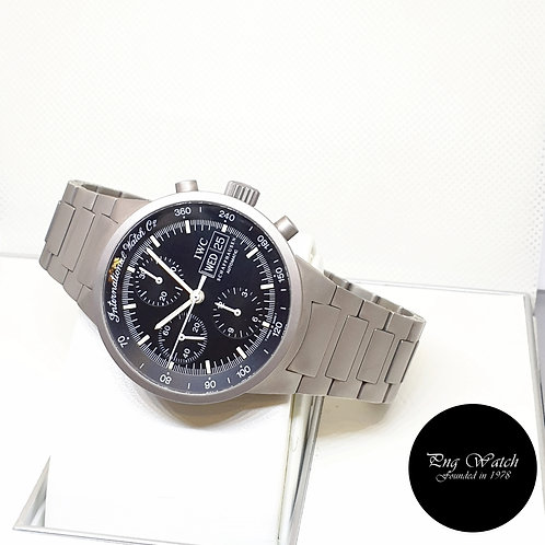 IWC  Tritium 40mm Black Titanium GST Chronograph Watch REF: 3707