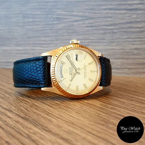 Rolex 18K Yellow Gold Champagne Day-Date REF: 1803 (2)