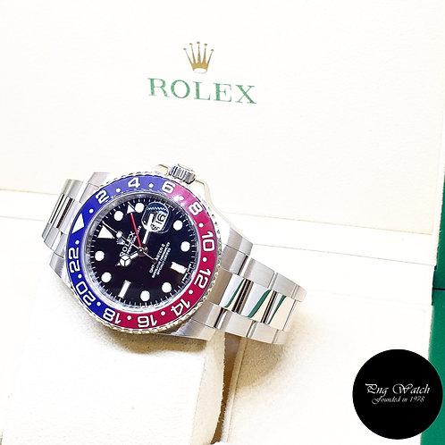 """Rolex 18K White Gold """"PEPSI"""" GMT Master 2 REF: 116719BLRO"""
