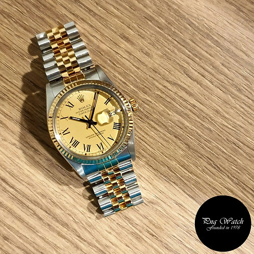 """Rolex Oyster Perpetual Datejust """"Buckley Dial"""" REF: 16013 (2)"""