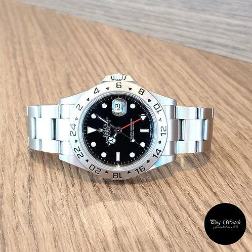 "Rolex Black Explorer 2 ""3186"" Movement REF: 16570 (Z Series)(2)"
