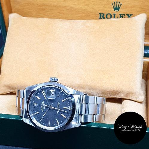 Rolex OP Matte Black (Spotted) Date REF: 1500 (3.94 Million Series)