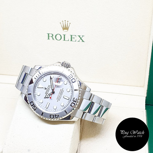 Rolex Oyster Perpetual Platinium 40mm Yachtmaster REF: 16622 (2006)