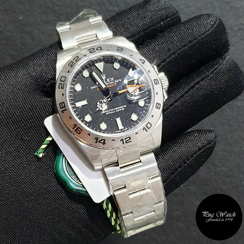 Rolex Oyster Perpetual 42mm Black Explorer 2 REF: 216570 (2020)